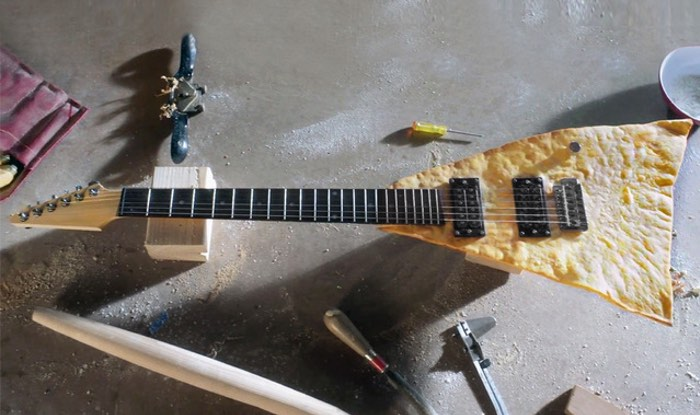 Playable And Edible Tortilla Chip Guitar Created