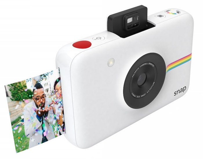 Polaroid Snap $99 Instamatic Camera Using ZINK Zero Ink Technology Unveiled