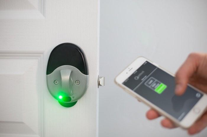 Quicklock Bluetooth Door Lock Video