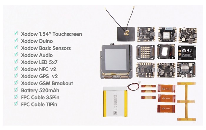 RePhone Open Source and Modular Phone Kit