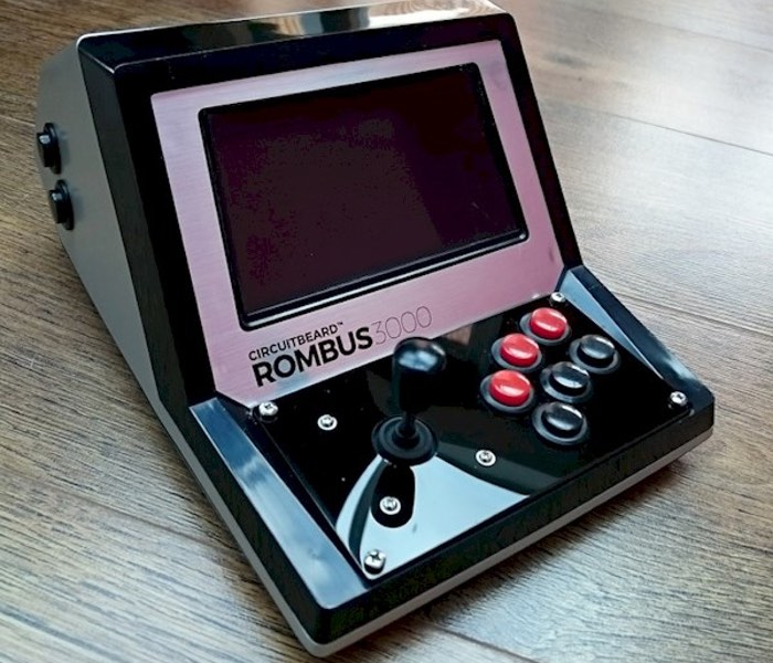 Rombus3000 Raspberry Pi Desktop Arcade Machine