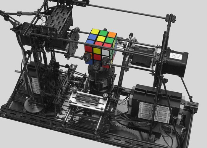 Rubik Cube Solver Built Using FAC Building System