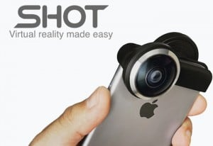 SHOT iPhone Lens Transforms Your Smartphone Into A Virtual Reality Camera (video)