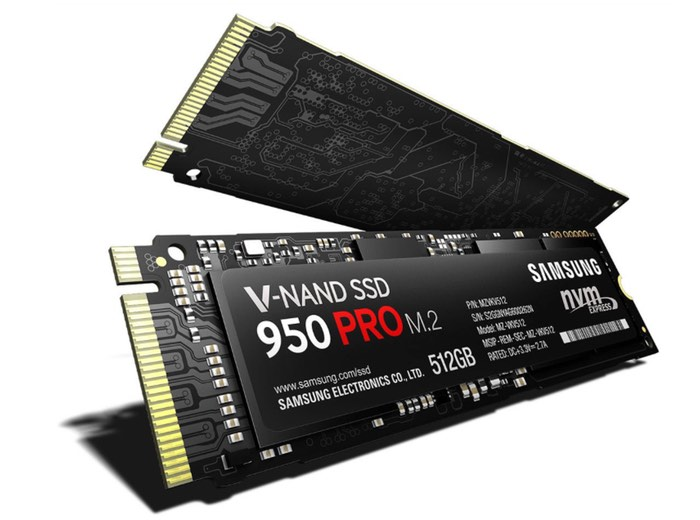 Samsung Launches 950 PRO SSD