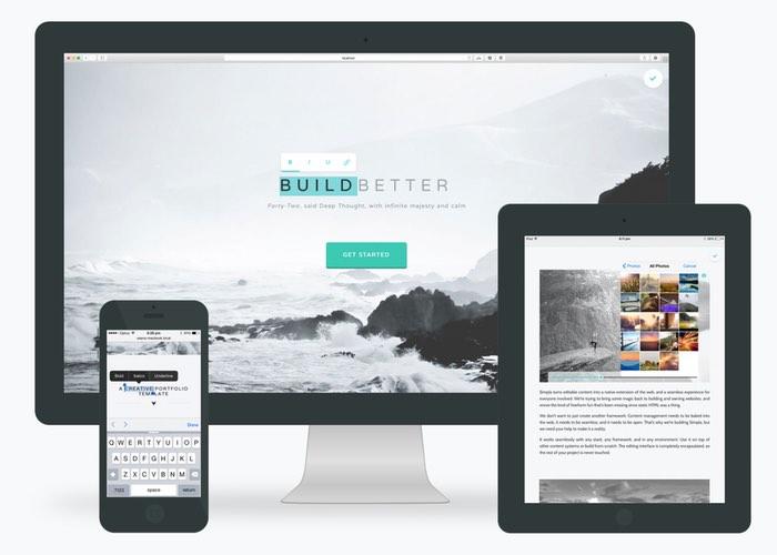Simpla Makes Web Content Management Easy