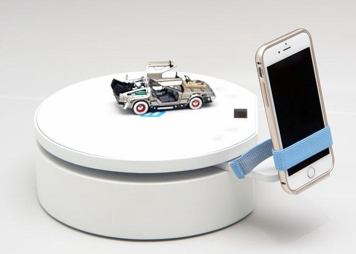 pixelio smartphone 3d scanning turntable unveiled. Black Bedroom Furniture Sets. Home Design Ideas