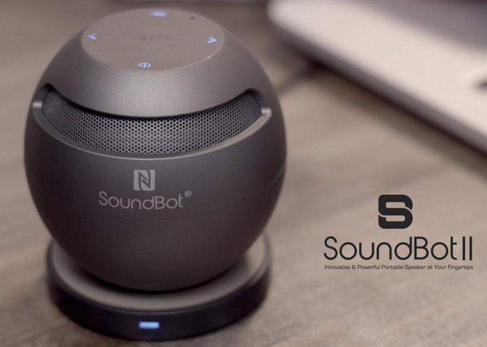SoundBot II Qi Wireless Charged Speaker System