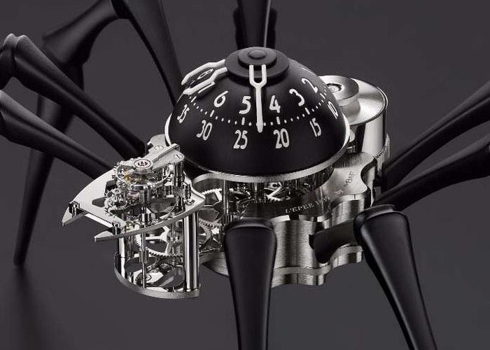Spider Clock