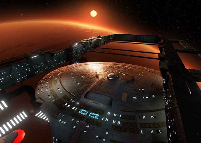 Star Trek Enterprise Virtual Reality Tour Create