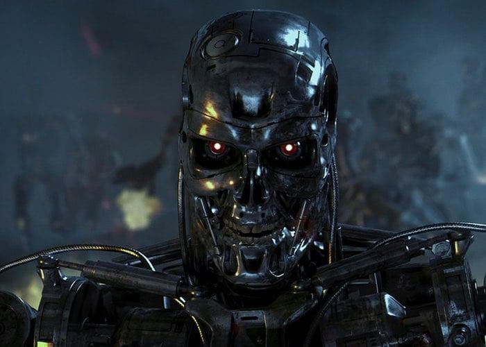 Terminator T800 Robot