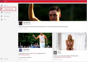 Window 10 Twitter App Now Includes New Trending Stories Page