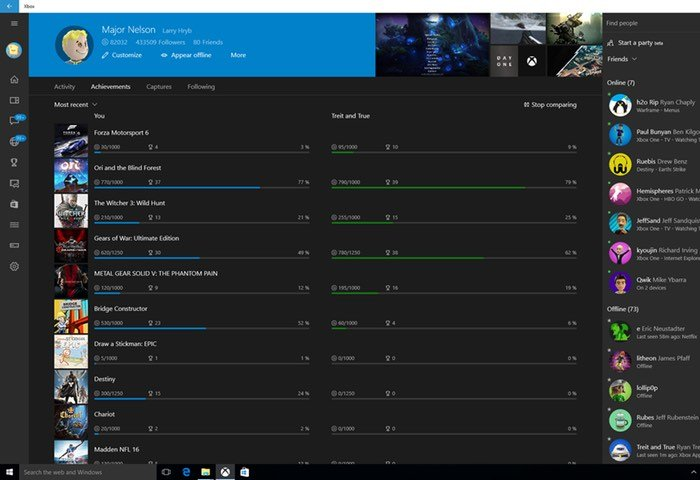 Windows 10 Xbox App Update
