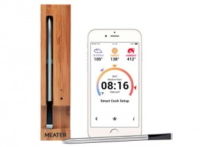 Wireless Smartphone Connected Meat Thermometer