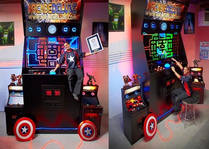Worlds Largest Arcade Games Machine