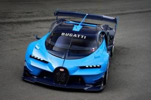 Bugatti Vision Gran Turismo Announced At Frankfurt Motor Show