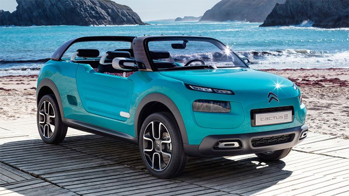 Citroen Cactus M Concept aims at the Beach Set