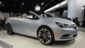 Buick Cascada 4-seat Convertible Starts at $33,990