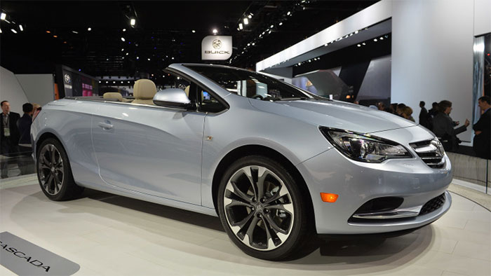 buick cascada 4 seat convertible starts at 33 990 geeky. Black Bedroom Furniture Sets. Home Design Ideas