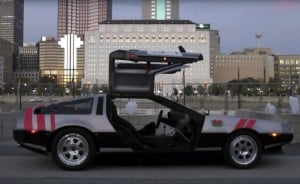 Marty McFly Would Love The World's Fastest DeLorean (Video)