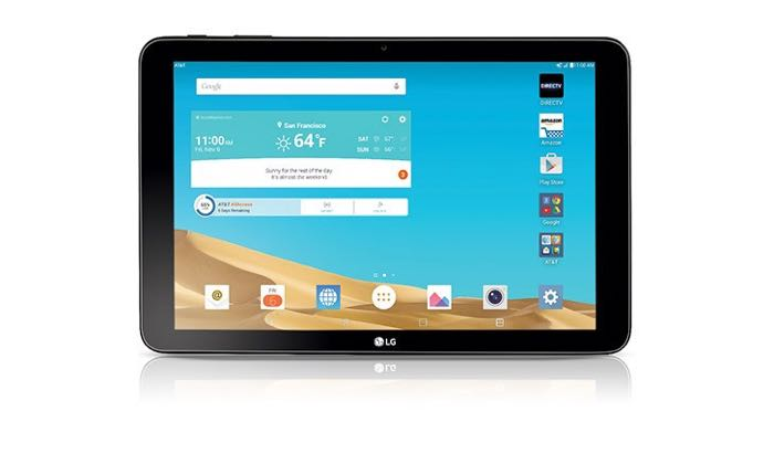 LG G Pad X 10.1 For AT&T Announced