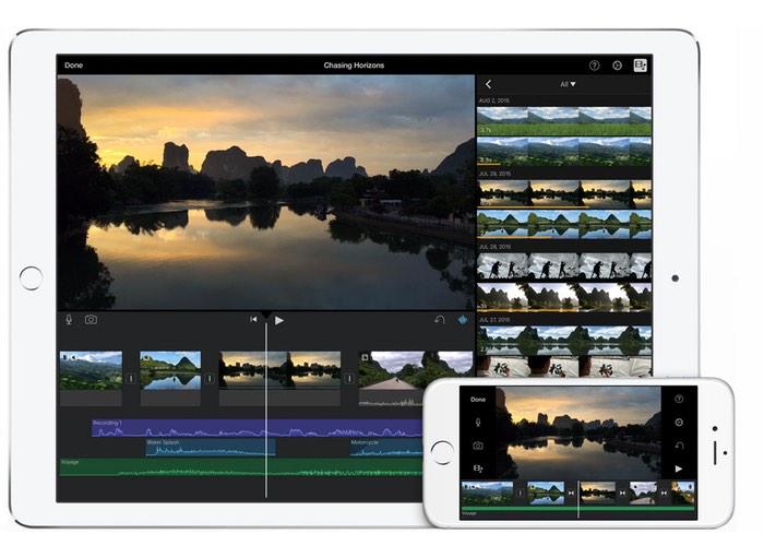 iOS iMovie App
