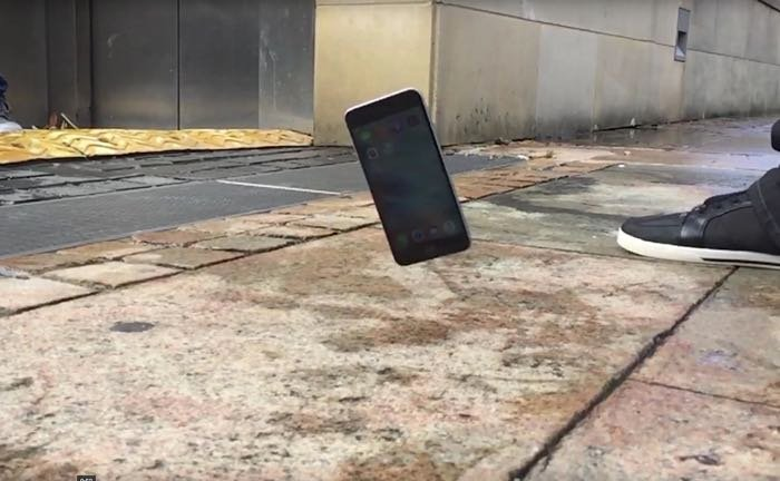 iphone 6s plus drop test