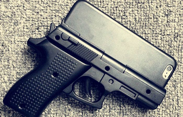 iphone gun case