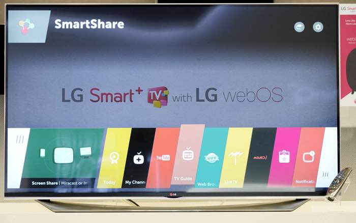 LG's Older Smart TVs Will Get webOS 2.0 Update