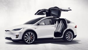 Tesla Model X SUV Finally Launches