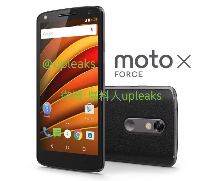 Moto X Force Android Smartphone Leaked