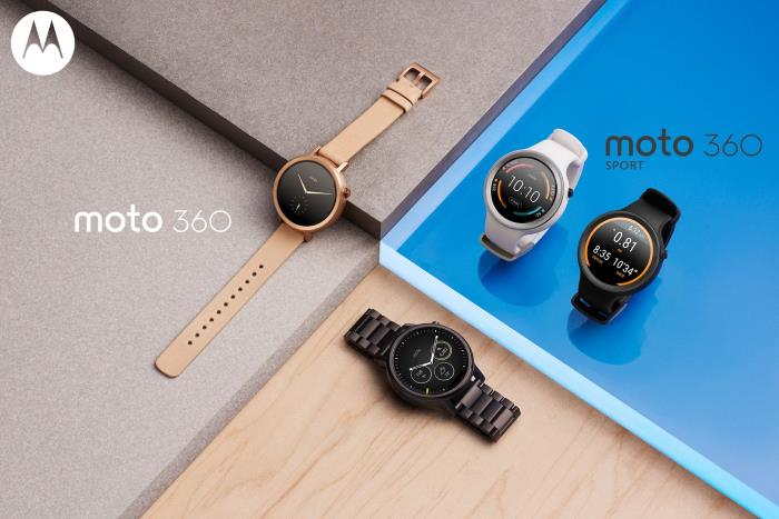 Motorola Announces Moto 360 2nd Gen and Moto 360 Sport