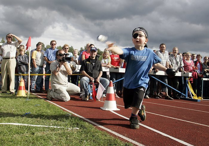 Mobile phone throwing is a national sport in Finland