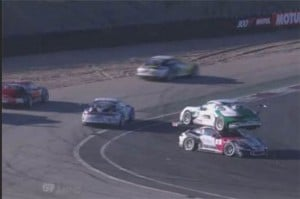 Porsche Racing Accident May be the Weirdest Ever