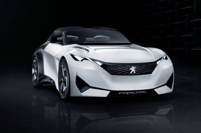 Peugeot Fractal EV Concept To Debut In Frankfurt