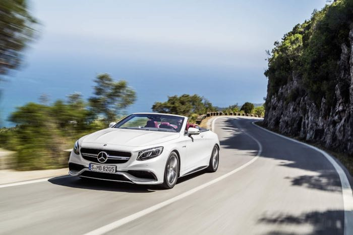 Mercedes S Class Cabriolet Gets Official