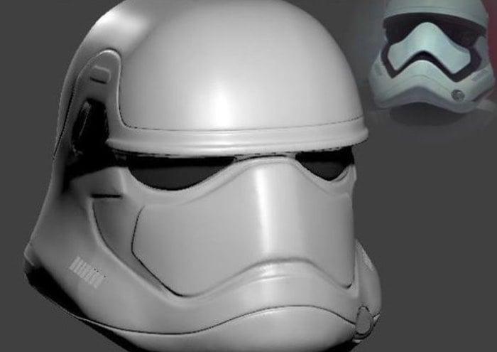 3D Printed StormTrooper Helmet