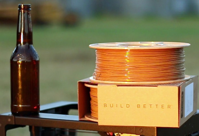 3D Printing Filament Made From Beer