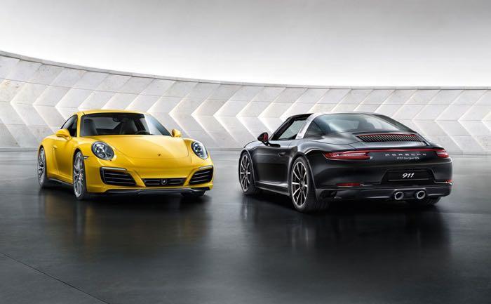 New Porsche 911 Carrera 4S Shown Off On Video