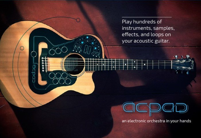 ACPAD An Electronic Orchestra Designed For Your Guitar (video)