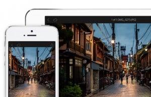Adobe Lightroom Mobile iOS