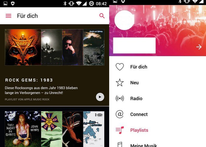 Apple Music Android App