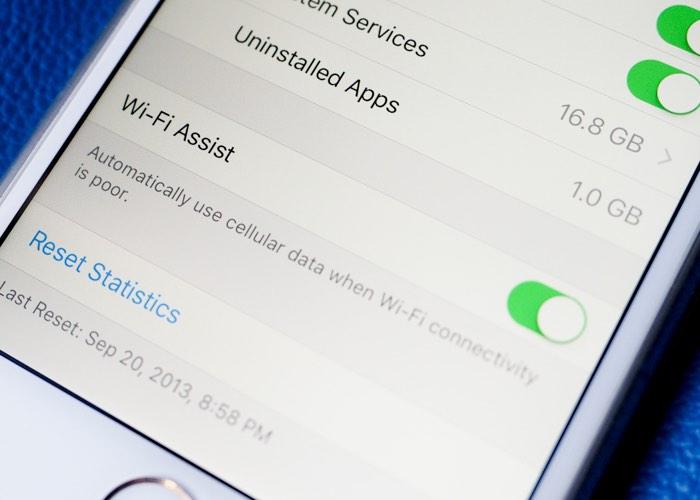 Apple Wi-Fi Assist