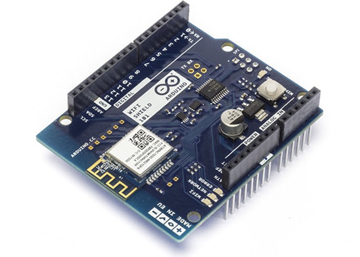 Arduino wi fi shield now available for