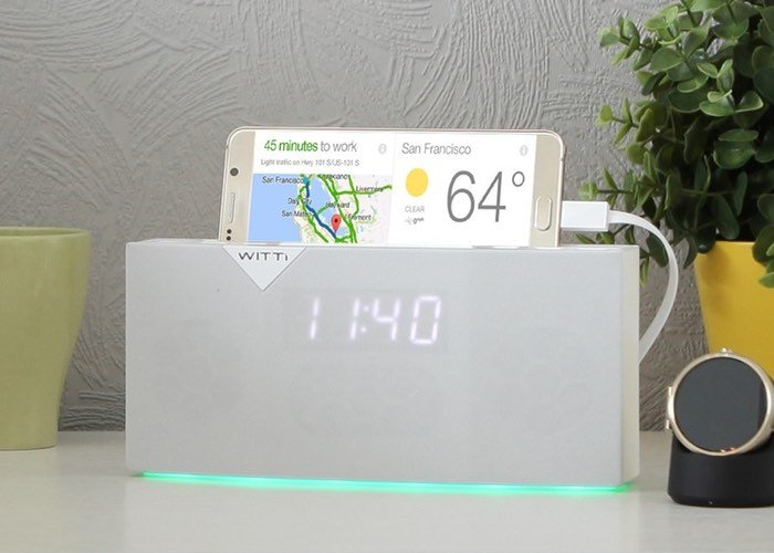 BEDDI Smart Alarm Clock Supports Spotify And More (video)