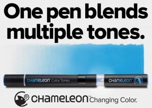Chameleon Pen Can Blend Multiple Colour Tones (video)