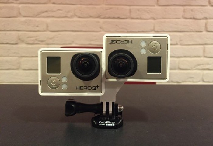 DIY GoPro Stereo Rig For Capturing 3D Footage