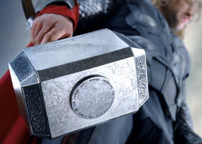 diy thor s hammer can only be lifted by its creator video
