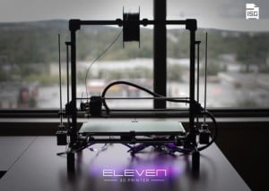 Eleven Open Source 3D Printer Hits Kickstarter (video)