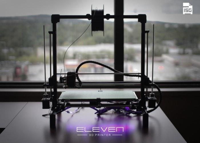 Eleven 3D printer