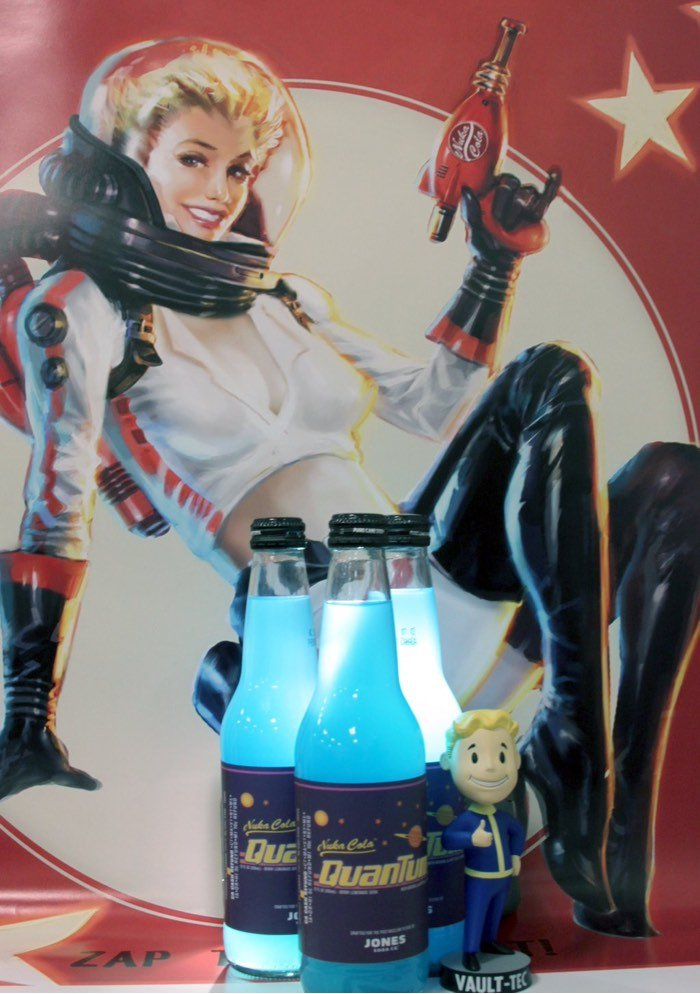 Fallout Officially licensed Nuka-Cola Quantum-1